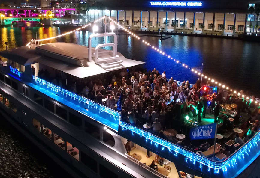 Rock the Yacht Party Cruise - Yacht Starship Yacht Starship